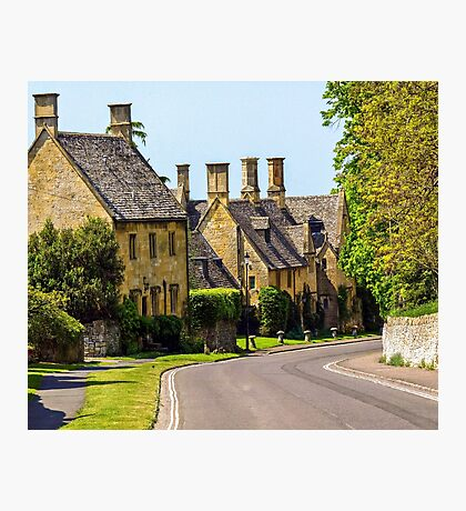 Quaint streets of England Photographic Print