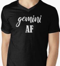 Gemini AF Men's V-Neck T-Shirt