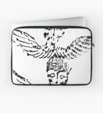 Black & White Abstract Angels Laptop Sleeve