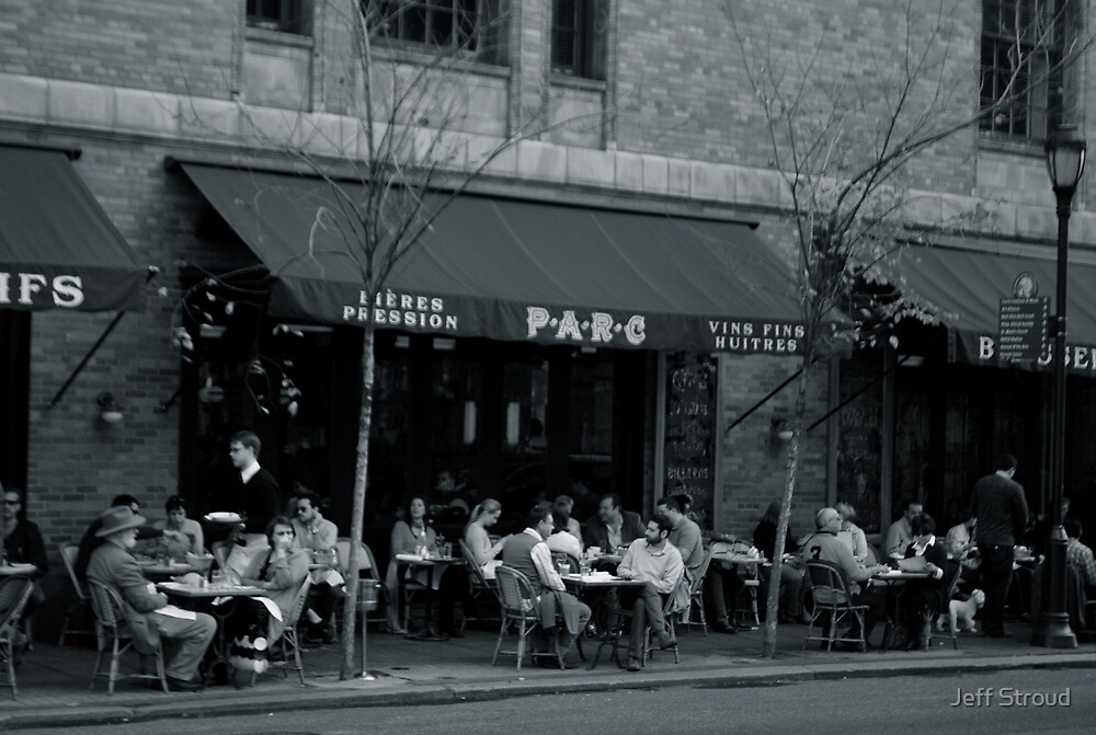 The Parc Cafe by Jeff stroud