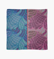 Blue and Purple Abstract Scarf