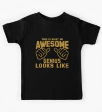 This is What an AWESOME GENIUS Looks Like Retro Kids Clothes