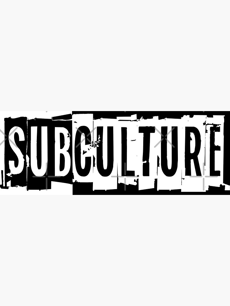 Sub Culture:  Apparel & Accessories by Subculturejc