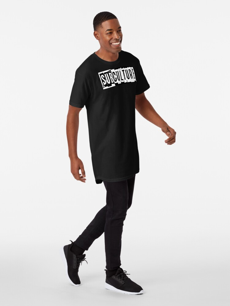 Alternate view of Sub Culture:  Apparel & Accessories Long T-Shirt