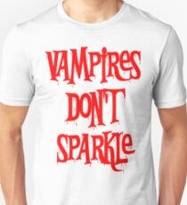 Vampires Don't Sparkle Twilight T-Shirt
