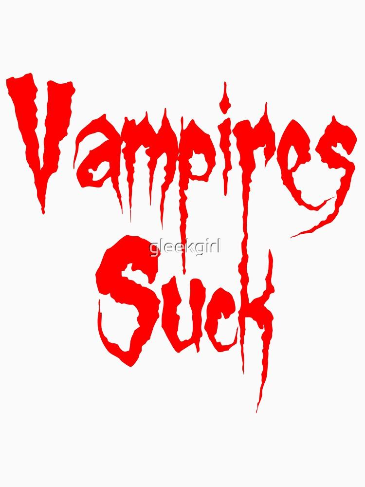 Vampires Suck Twilight by gleekgirl