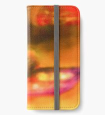 Row Boat in Yellow, Pink and Purple iPhone Wallet/Case/Skin