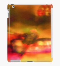 Row Boat in Yellow, Pink and Purple iPad Case/Skin