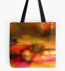 Row Boat in Yellow, Pink and Purple Tote Bag