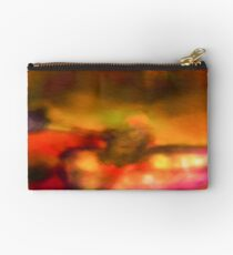 Row Boat in Yellow, Pink and Purple Studio Pouch