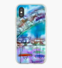 Cape Cod Traffic Jam Abstract Art iPhone Case