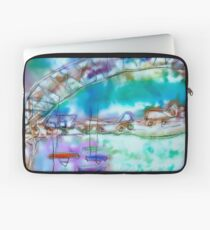 Cape Cod Traffic Jam Abstract Art Laptop Sleeve