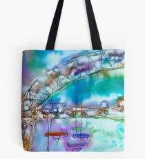 Cape Cod Traffic Jam Abstract Art Tote Bag