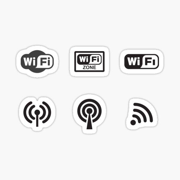 Wifi Zone Sticker