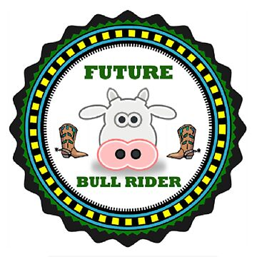 Future Bull Rider for Children by LittleCsDesigns