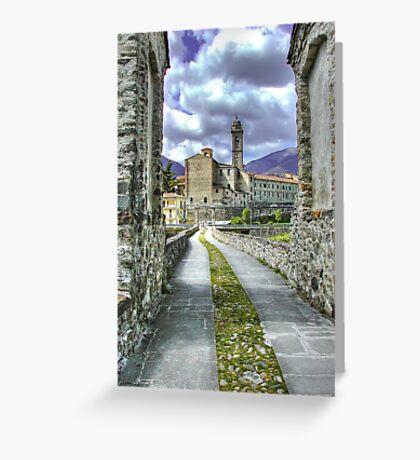 Bobbio - Italy Greeting Card