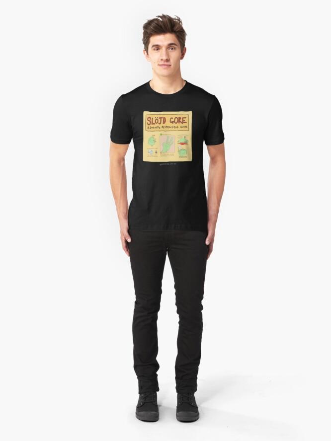 Alternate view of Slojd gore! Slim Fit T-Shirt