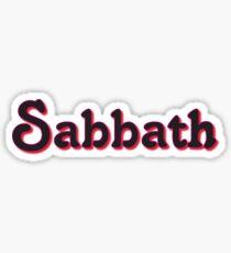 """Black """"Sabbath"""" - 2 Sticker"""
