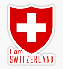I Am Switzerland Twilight Sticker