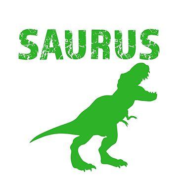 Brother Saurus Rex Shirt Funny Bro T-shirt Dinosaur by worksaheart