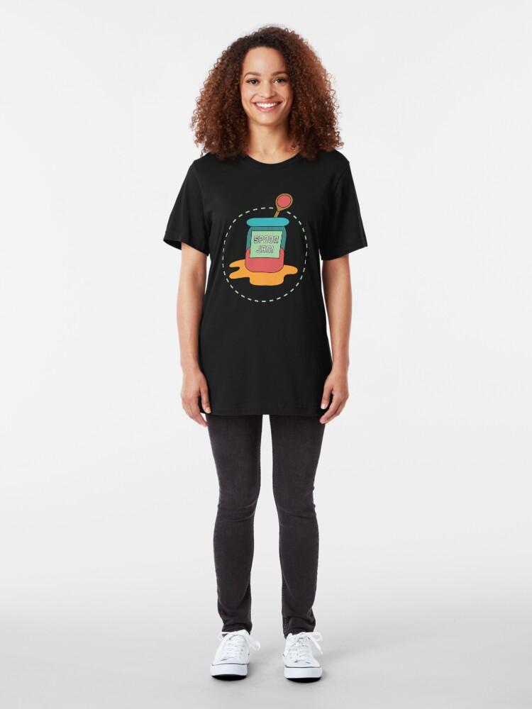 Alternate view of Spoon Jam Tee! Slim Fit T-Shirt
