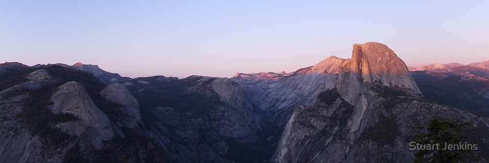 Yosemite Sunset by Stuart Jenkins