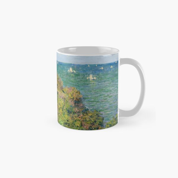 Fishermans Cottage on the Cliffs at Varengeville Claude Monet Classic Mug