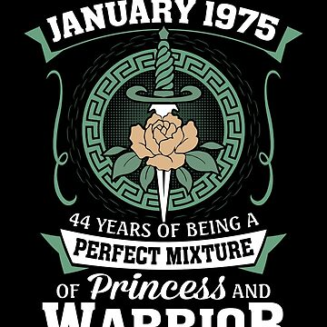 January 1975 Perfect Mixture Of Princess And Warrior by lavatarnt