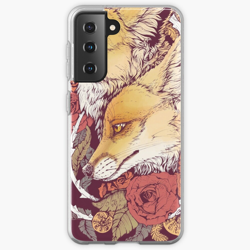 Red Fox Bloom Case & Skin for Samsung Galaxy
