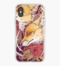 Red Fox Bloom iPhone Case