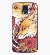 Funda/vinilo para Samsung Galaxy Red Fox Bloom