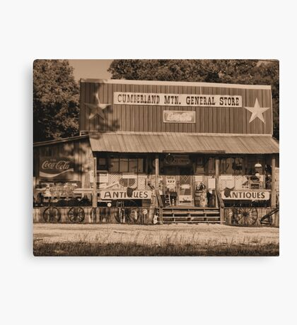 """Cumberland Mountain General Store""... prints and products Canvas Print"