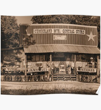 """""""Cumberland Mountain General Store""""... prints and products Poster"""