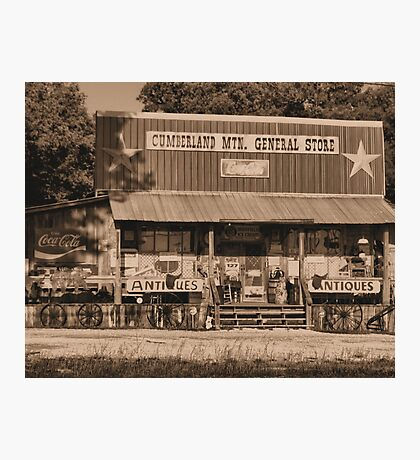 """""""Cumberland Mountain General Store""""... prints and products Photographic Print"""