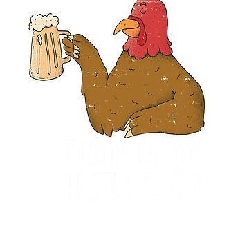 Time To Get Basted Thirsty Turkey Thanksgiving  by ZippyThread
