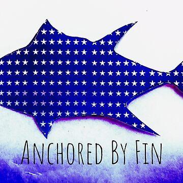 Anchored by Fin Tuna  by barryknauff