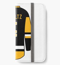 Justin Schultz Jersey iPhone Wallet/Case/Skin