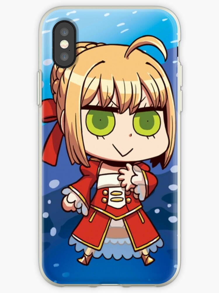 'Nero Claudius (Red Saber) - Fate Grand Order' iPhone Case by HobiHobo