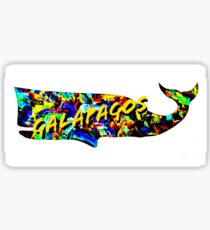 Galapagos whale  Sticker