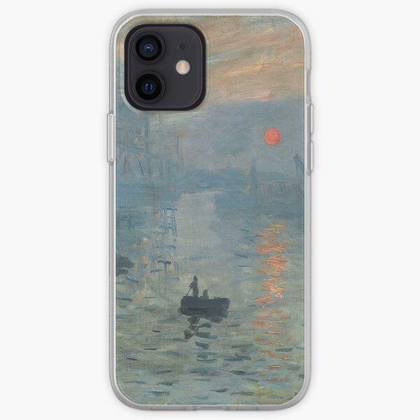 Impression Sunrise Painting par Claude Monet Coque souple iPhone