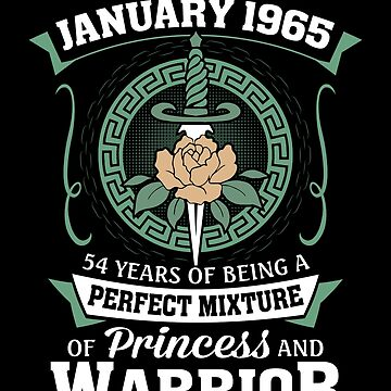 January 1965 Perfect Mixture Of Princess And Warrior by lavatarnt