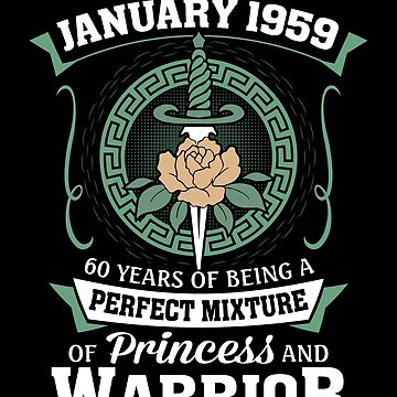 January 1959 Perfect Mixture Of Princess And Warrior by lavatarnt