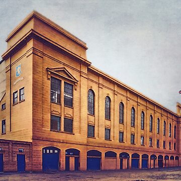 Ibrox stadium main stand in colour by AndythephotoDr