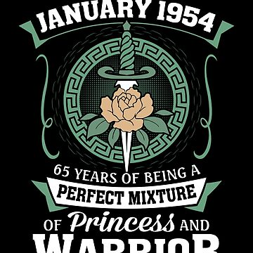 January 1954 Perfect Mixture Of Princess And Warrior by lavatarnt