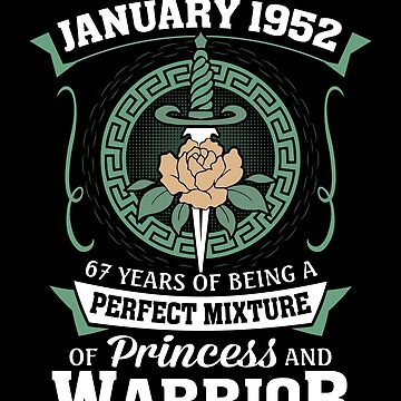 January 1952 Perfect Mixture Of Princess And Warrior by lavatarnt
