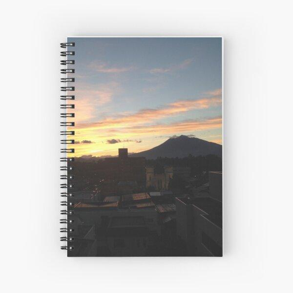 """""""Blushing Fuji-san"""" Spiral Notebook"""