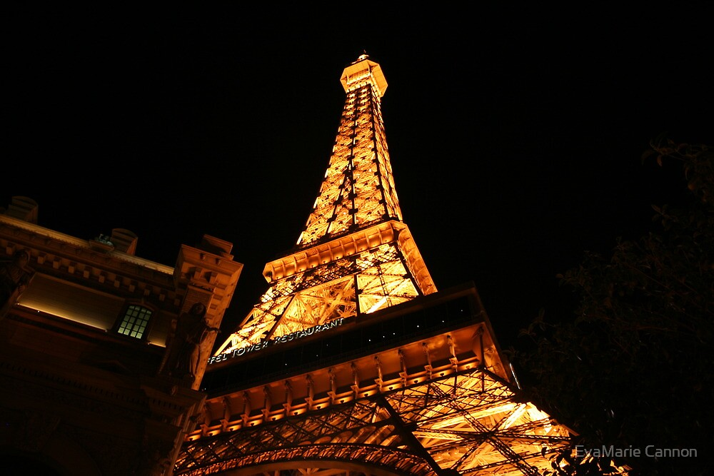 Paris.. In Las Vegas by EvaMarie Cannon