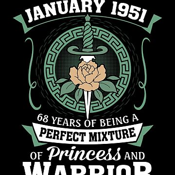 January 1951 Perfect Mixture Of Princess And Warrior by lavatarnt