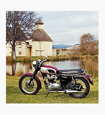 1969 Triumph Bonneville Photographic Print