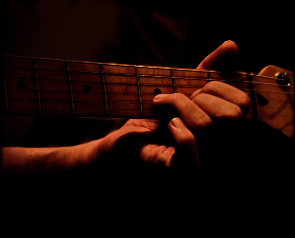 There is music in his hands by Erika Gouws